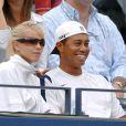 Tiger Woods et sa femme Elin