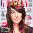 """Couverture du magazine """"Grazia"""" en kiosques le 6 octobre 2017."""