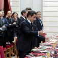 Nicolas Sarkozy à l'Elysée