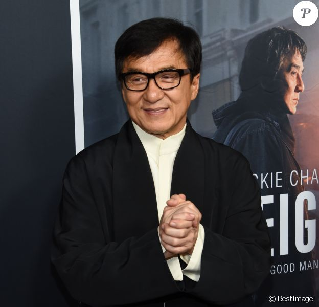"Jackie Chan à la première de ""The Foreigner"" à Los Angeles, le 5 octobre 2017. © Chris Delmas/Bestimage"