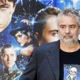 """Luc Besson sur le photocall de son film """"Valérian et la Cité des mille planètes"""" à Rome en Italie le 13 septembre 2017."""