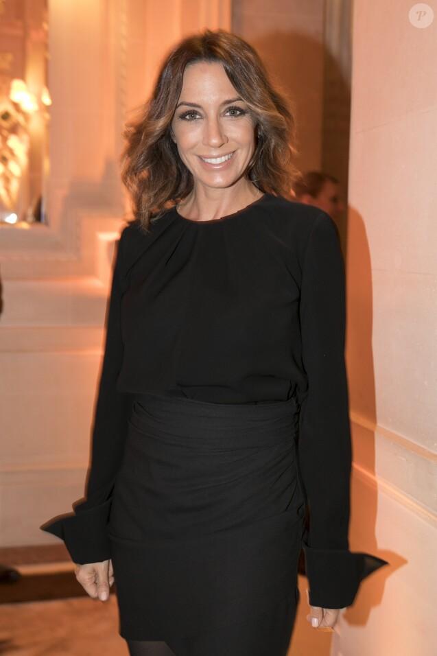 Exclusif - Virginie Guilhaume lors de la soirée de remise du 10e prix Meurice pour l'art contemporain à l'hôtel Meurice à Paris le 9 octobre 2017. © Jean Picon via Bestimage