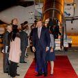 Le roi Willem-Alexander et la reine Maxima des Pays-Bas arrivent au Portugal pour une visite d'état officielle à Lisbonne le 9 octobre 2017. 09/10/2017 - Lisbone