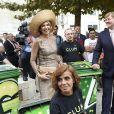 Le roi Willem-Alexander et la reine Maxima des Pays-Bas se baladent dans les rues de Lisbonne lors d'une visite d'état au Portugal le 10 octobre 2017.  State visit of King Willem Alexander and Queen Maxima to the republic of Portugal.10/10/2017 - Lisbonne