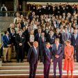 Le roi Willem Alexander et la reine Maxima des Pays-Bas visitent l'université de Lisbonne le 11 octobre 2017. 11/10/2017 - Lisbonne