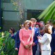 Le roi Willem-Alexander et la reine Maxima des Pays-Bas visitent la fondation Champalimaud lors d'une visite d'état au Portugal le 11 octobre 2017. 11/10/2017 - Lisbonne