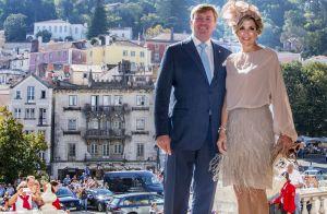Maxima des Pays-Bas : Eclatante pour la visite royale au Portugal