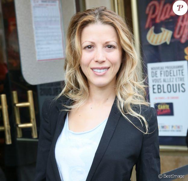 """Tristane Banon à l'avant-première du film """"Fastlife"""" au cinéma Gaumont Capucines Opéra à Paris, le 15 juillet 2014."""