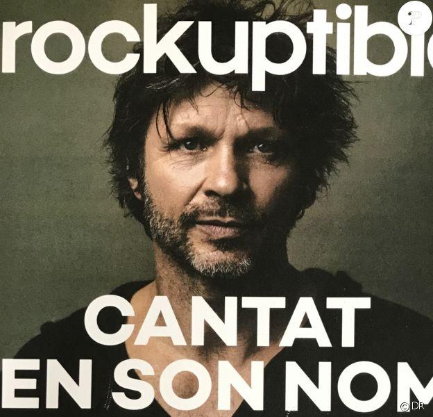 Bertrand Cantat en couverture des Inrockuptibles, le 11 octobre 2017.