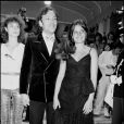 Patrick Dewaere et Marie Trintignant lors du Festival de Cannes 1979 et la projection du film Série noire
