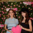 """Exclusif - Dolorès Doll et Annabelle Belmondo - 4ème soirée """"For The Women We Love"""" dédiée à la recherche sur le cancer du sein à l'hôtel d'Evreux à Paris, le mardi 17 octobre 2017. © Rachid Bellak/Bestimage"""