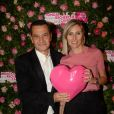 """Exclusif - Virginie Serres et Philippe Benacin (Interparfums) - 4ème soirée """"For The Women We Love"""" dédiée à la recherche sur le cancer du sein à l'hôtel d'Evreux à Paris, le mardi 17 octobre 2017. © Rachid Bellak/Bestimage"""