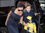 Victoria Beckham et sa copine Eva Longoria fêtent les 4 ans du petit Cruz... déguisé en super héros !