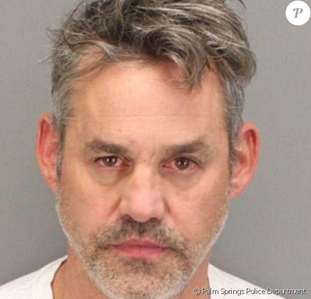 Mugshot de Nicholas Brendon, arrêté à Palm Springs le 12 octobre 2017
