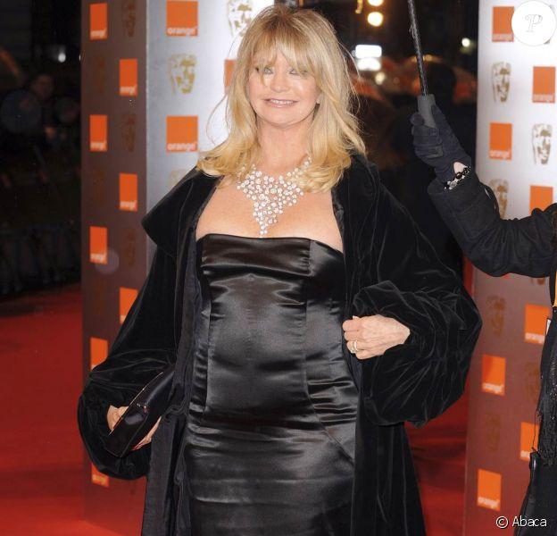 Goldie Hawn aux BAFTA. 08/02/09