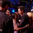 """Vincent Cerutti et Katrina Patchett éliminés lors du second prime de """"Danse avec les stars 8"""" (TF1), samedi 21 octobre 2017."""