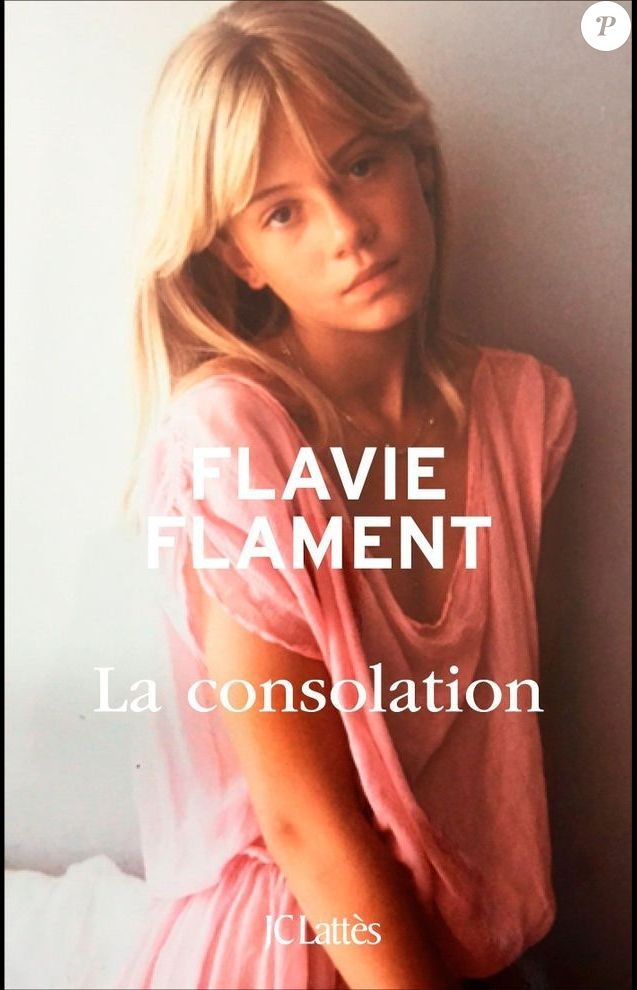"Flavie Flament, photographiée par David Hamilton, en couverture son livre ""La Consolation"" (JC Lattès) - ocotbre 2016"