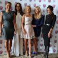 Mel B, Mel C, Geri Halliwell, Emma Bunton, Victoria Beckham à la soirée de présentation de la comédie musicale Viva Forever, le 26 juin 2012 à Londres