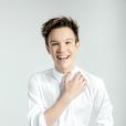 """Lenni-Kim, candidat de """"Danse avec les stars 8"""" sur TF1. Septembre 2017."""
