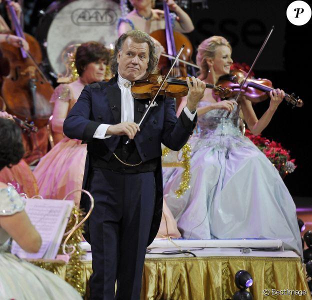 André Rieu en concert à Londres le 22 December 2015.
