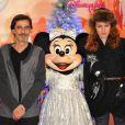 Philippe Vecchi et sa compagne à Disneyland Paris en 2010.