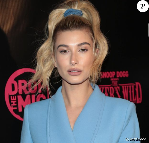 Hailey Baldwin à la première de 'Drop The Mic' et 'The Joker's Wild au Highlight Room à Hollywood, le 11 octobre 2017
