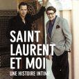 """""""Le livre """"Saint Laurent et Moi"""" de Fabrice Thomas, sorti le 12 octobre aux éditions Hugo & Cie."""""""