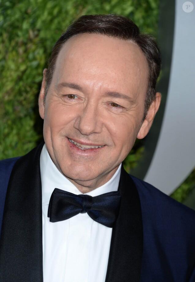 Kevin Spacey - Les célébrités arrivent au Tony award à New York le 11 juin 2017.