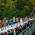 Défilé Louis Vuitton, collection croisière 2018 au musée Miho au sud de Kyoto, le 14 mai 2018 © Rodrigo Reyes Marin / Bestimage