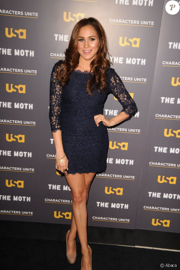 "Meghan Markle lors de l'événement ""The Moth Storytelling Tour: A More Perfect Union - Stories of Prejudice and Power, à Los Angeles le 15 février 2012"