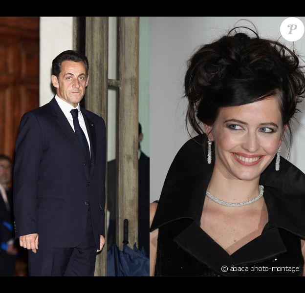 Eva Green a décliné l'invitation de Nicolas Sarkozy