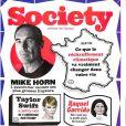 Magazine Society en kiosques le 9 novembre 2017.