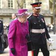 La reine Elisabeth II visite la galerie Joseph Hotung du British Museum pour sa réouverture à Londres le 8 novembre 2017.