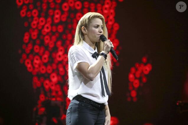 Shakira sur la scène de la Barclaycard Arena lors du Global Citizen Festival à Hambourg, le 6 juillet 2017. © Future-Image via Zuma Press/Bestimage06/07/2017 - Hambourg