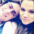 Caitlyn Jenner (alors Bruce) et Khloé Kardashian en 2013.