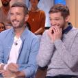 """""""Les chroniqueurs de Quotidien sur TMC très amusés... le 10 novembre 2017."""""""