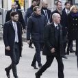 José Pietroboni, chef du protocole , Brigitte Macron lors de la commémoration du second anniversaire des attentats du 13 novembre 2015 au Bataclan à Paris le 13 novembre 2017. © Stéphane Lemouton / Bestimage