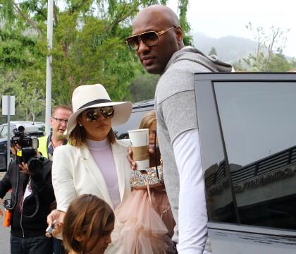 Khloé Kardashian, enceinte : Elle a rompu tout contact avec Lamar Odom