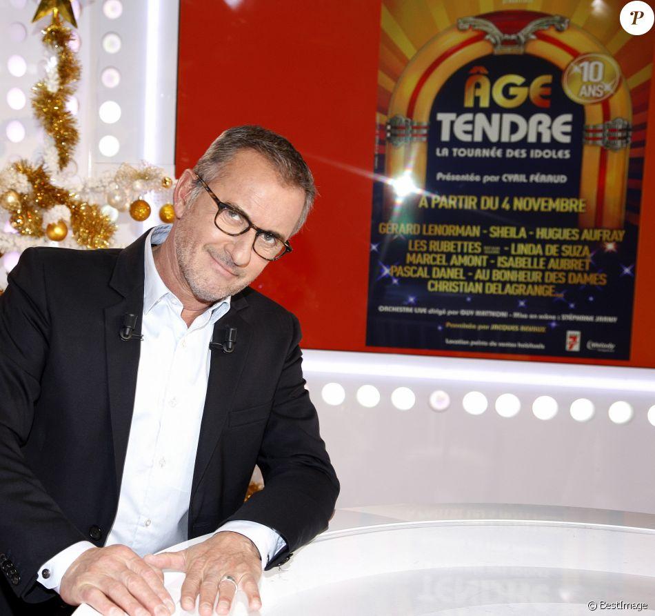Portrait de Christophe Dechavanne, 2016. Paris.