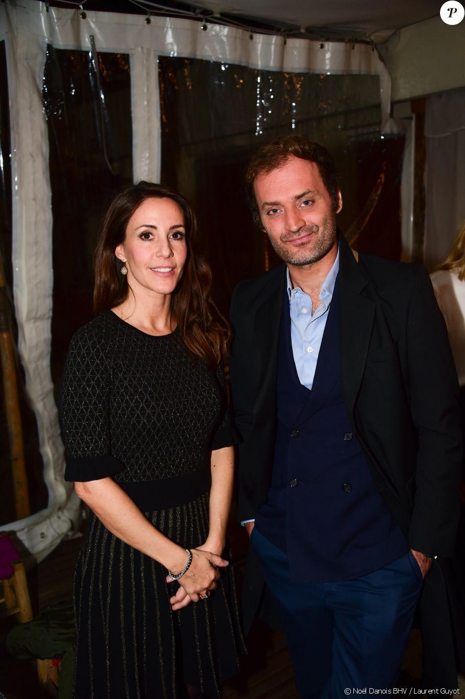 sar la princesse marie de danemark et augustin trapenard lors du lancement du no l danois. Black Bedroom Furniture Sets. Home Design Ideas