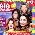 """Magazine """"Télé 2 semaines"""" en kiosques lundi 20 novembre 2017."""
