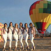 Miss France 2018 en Californie : Virée en montgolfière et premières impressions