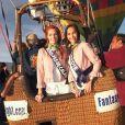 Les sublimes Miss en Californie, le 20 novembre 2017 lors d'une activité montgolfière.