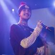 Le rappeur Lil Peep en concert. Octobre 2017.