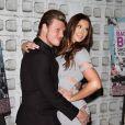 """Nick Carter et sa femme Lauren Kitt à la première de """"Backstreet Boys: Show Em What You're Made Of"""" à Hollywood, le 29 janvier 2015."""