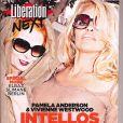 Pamela Anderson en couverture de  Libération Next