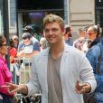 Nick Carter arrive dans les studios AOL Build à New York, le 26 juin 2017.