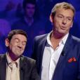 """""""Christian et Jean-Luc Reichmann dans """"Le Grand concours des animateurs"""" sur TF1. Le 10 février 2017"""""""