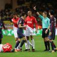 Match AS Monaco - PSG au Stade Louis II. Monaco, le 26 novembre 2017.