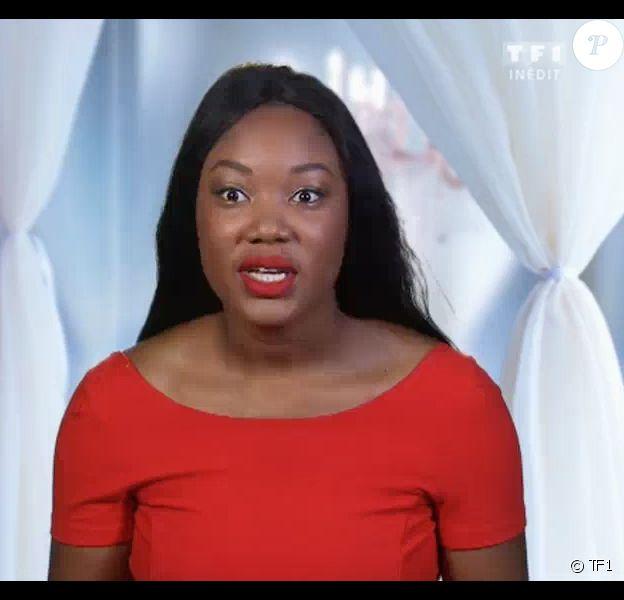 """Une particpante outrée quitte une soirée de mariage. Emission """"4 mariages pour 1 lune de miel"""", diffusée sur TF1 le 7 novembre 2017."""